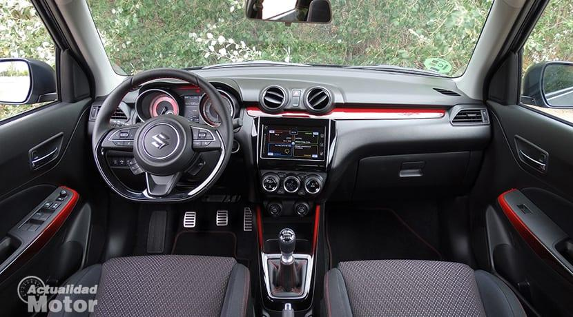 interior swift sport